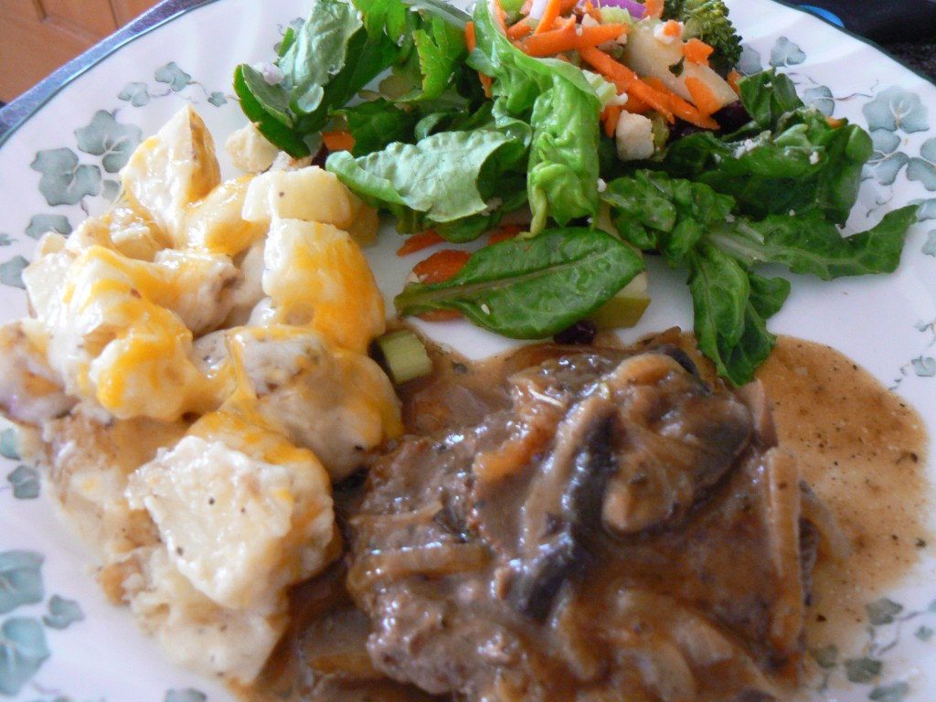 recipes, cooking, chopped steak