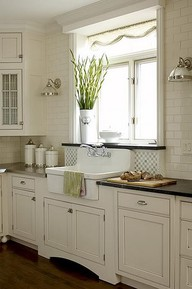 farmhouse-style sink