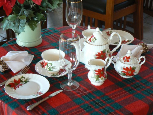 Christmas Tea Tablescapes Christmas Tea Tablescape
