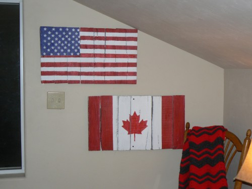 From pallet to Flag