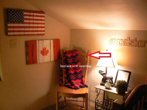 decorating boys bedroom, reading corner