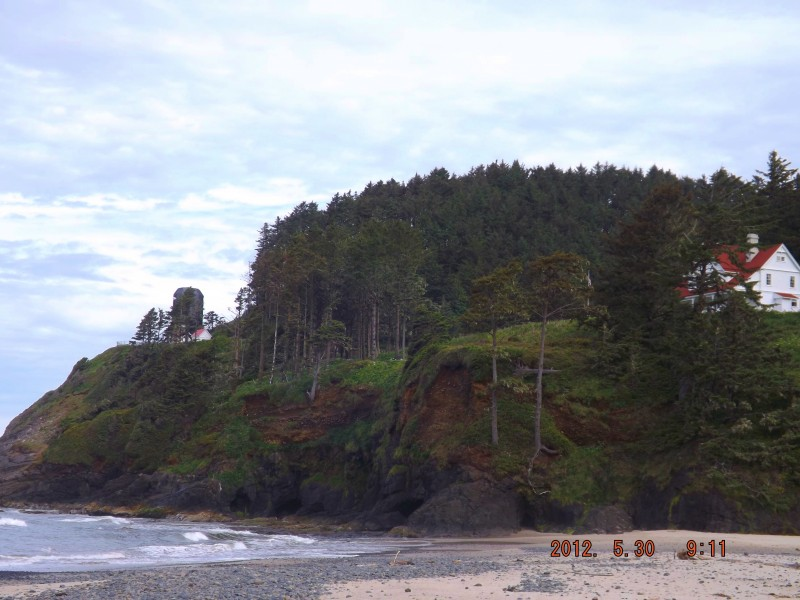 Oregon bed & breakfast with lighthouse