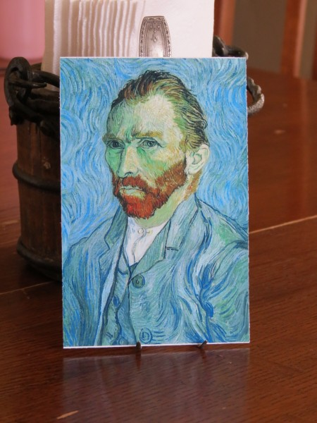self-portrait Vincent van Gogh