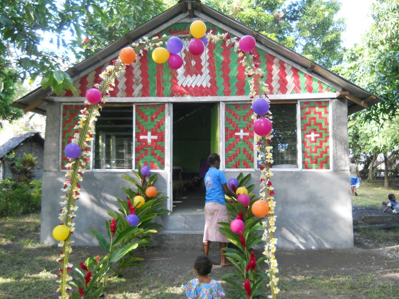 church dedication in Vanuatu