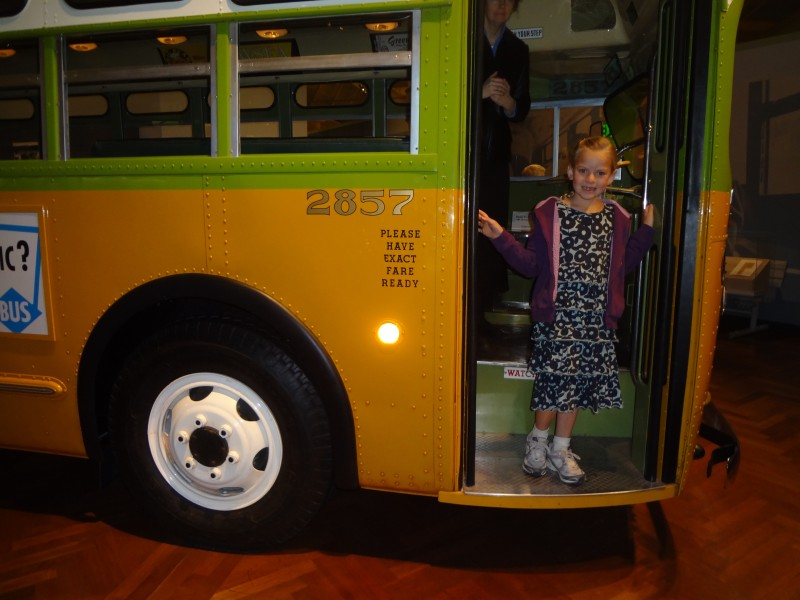 The Henry Ford Museum bus Rosa Parks was riding